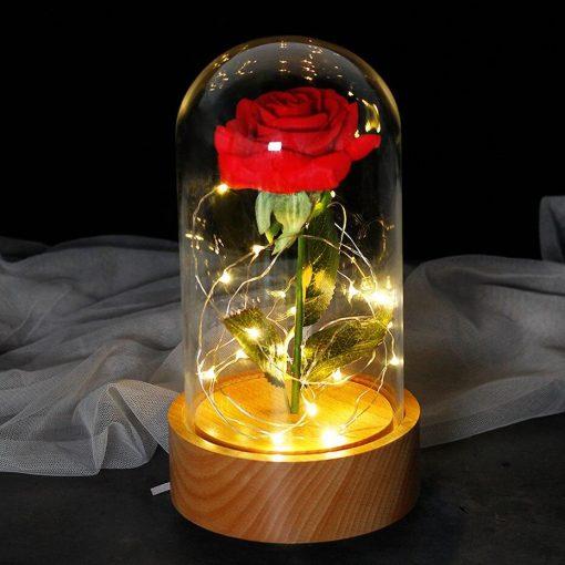 Rose Éternelle Lumineuse